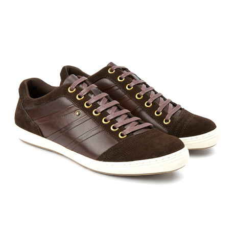 Jive Lace-Up Sneaker // Brown