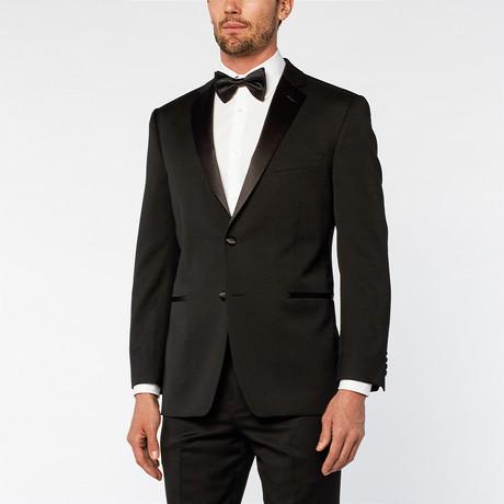 Notch Slim Fit Geneste Tuxedo // Black