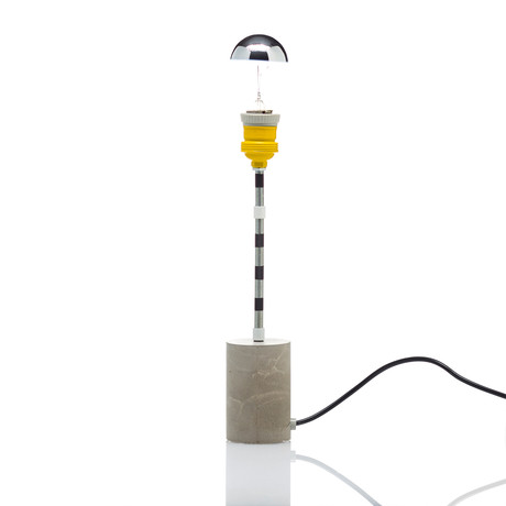 Concrete Lamp // Ronde
