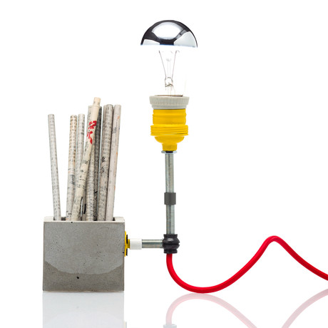 Concrete Lamp // Small