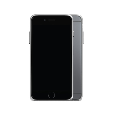 AL13 Slim Aerospace Aluminum Bumper // Silver (iPhone 6/6S Plus)