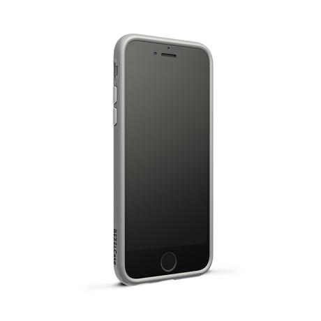 Bezel Case // Silver