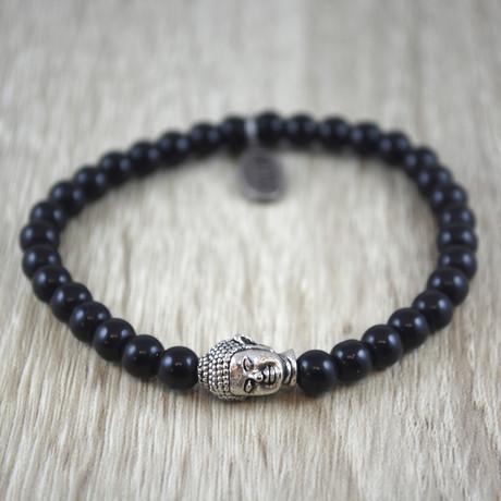 Boeddha Armband // Black Onyx