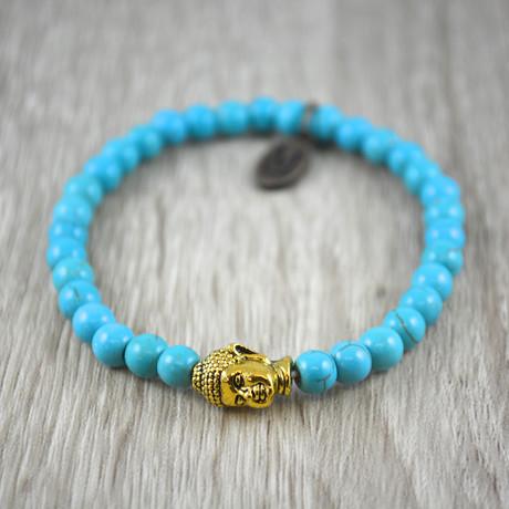 Buddha Bracelet // Turquoise