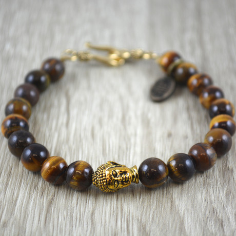Buddha Bracelet // Tijgers Oog