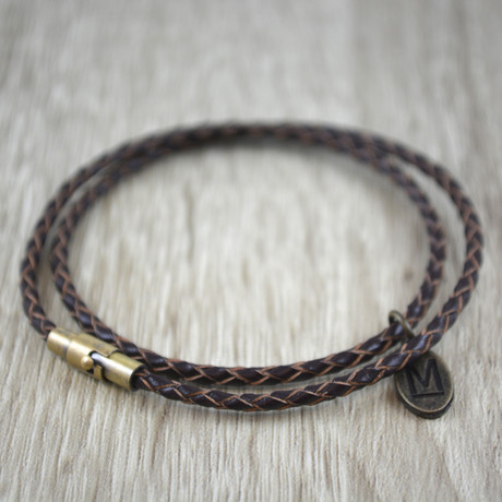 Double Wrap // Dark Brown