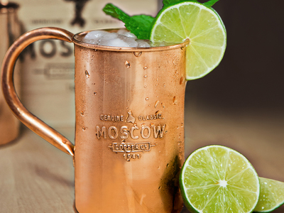 The Premium Bar Essential Drinking Accessories The Original 100% Copper Mule Mug by Touch Of Modern - Anniversary Gifts for Him