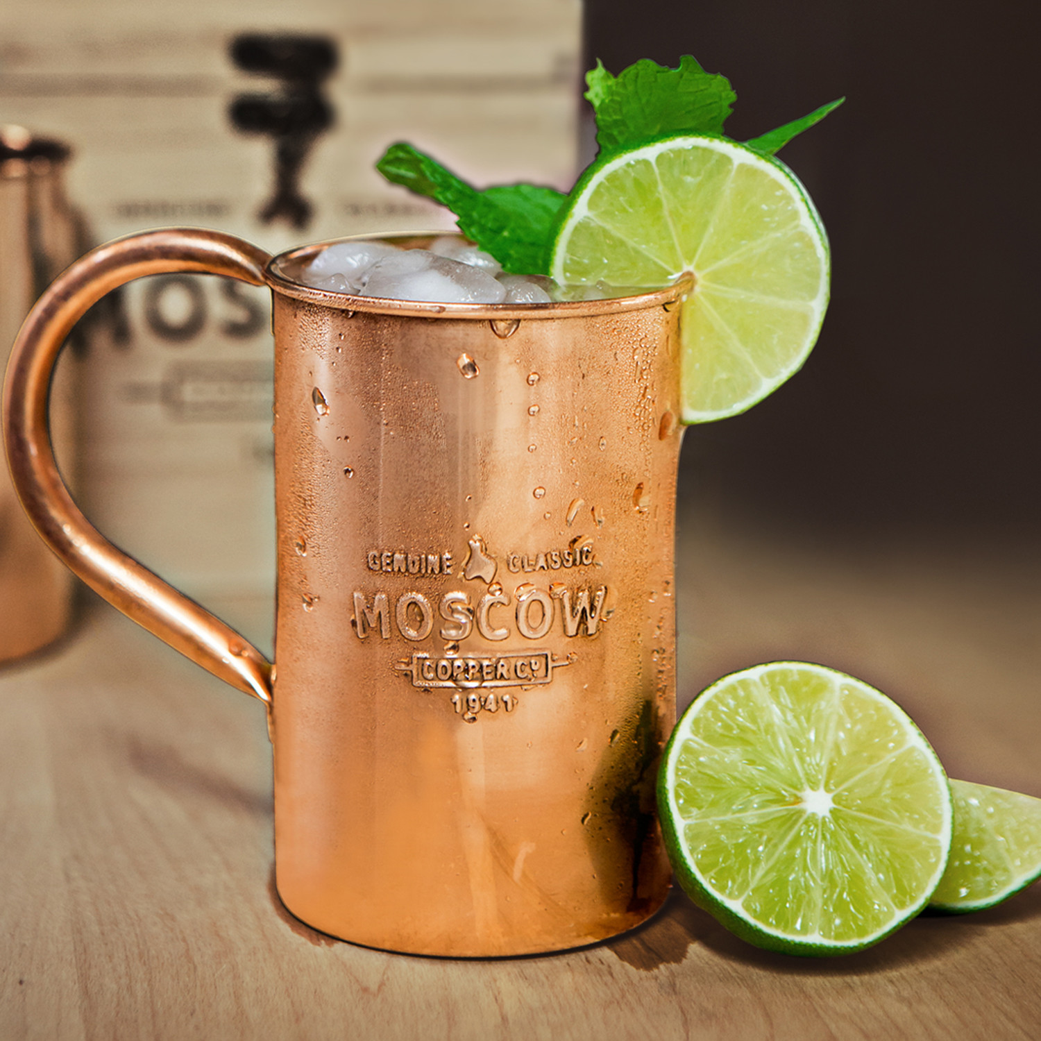 the original 100 copper mule mug - Copper Mule Mugs
