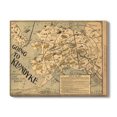 Kaart van Alaska // 1897