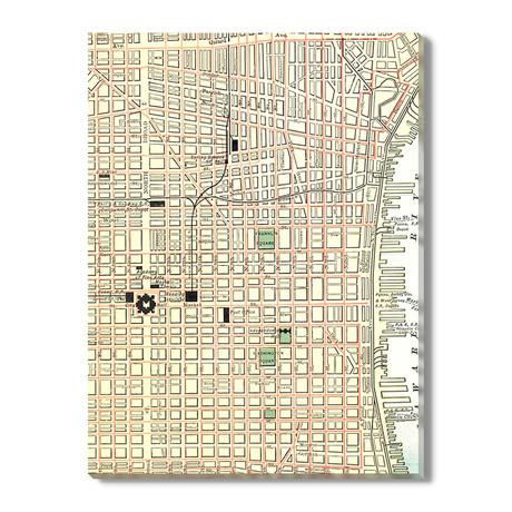 Kaart van Philadelphia