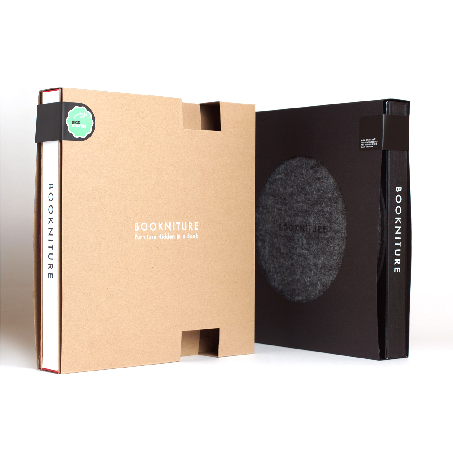 Bookniture // Leather Black Edition - Bookniture