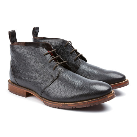 Squire Plain Toe Boot // Brown