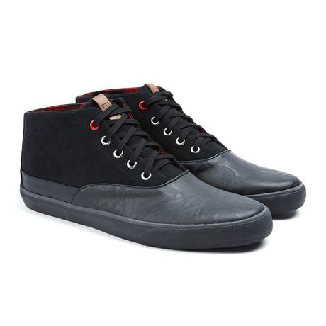 Percy Suede Sneaker // Black