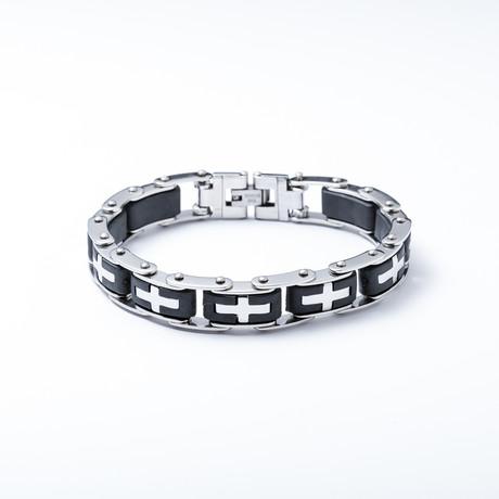 Cross Link Bracelet
