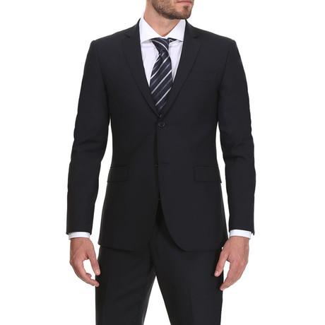 Slim Classic Suit // Oxford Blue