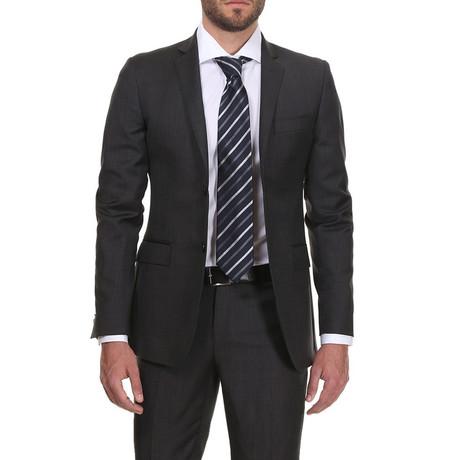 Slim Classic Suit // Carbon Black