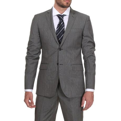 Slim Classic Suit // Grey Streep
