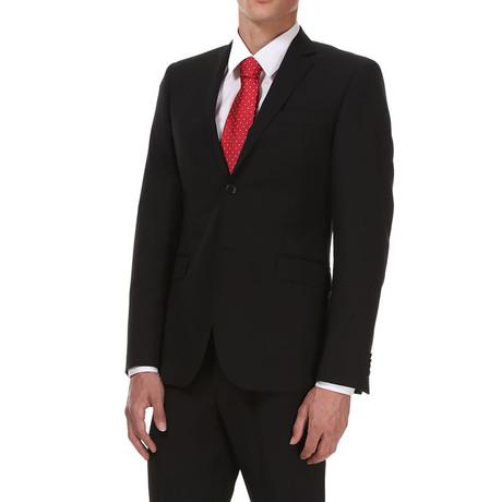 Slim Classic Suit // Rich Black
