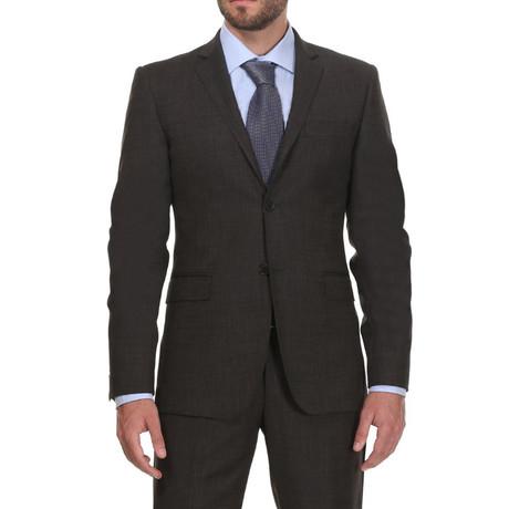 Slim Classic Suit // Houtskool