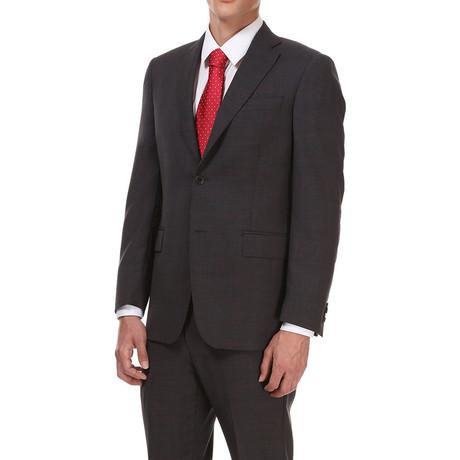 Classic Suit // Grijs + Red