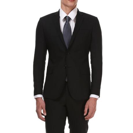Slim Classic Suit // Matte Black