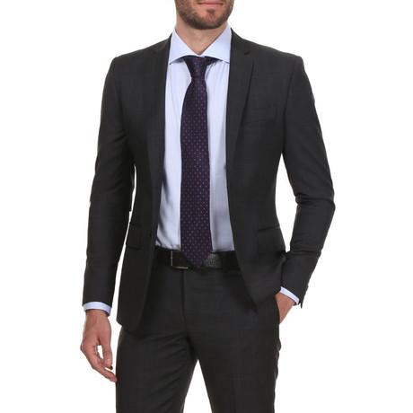 Slim Classic Suit // Dark Grey Check