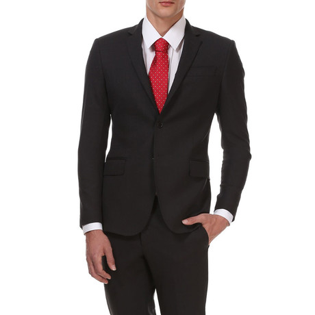 Slim Classic Suit // Midnight Grey