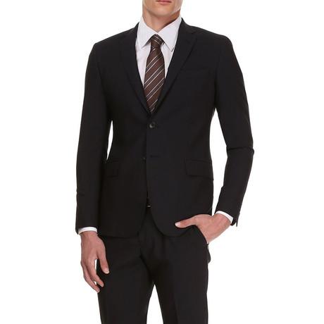 Slim Classic Suit // Midnight Black