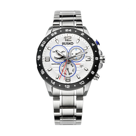 JIUSKO Speedmaster GMT Multifunction Quartz // 128LSB01