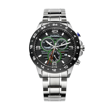 JIUSKO Speedmaster GMT Multifunction Quartz // 128LSB02