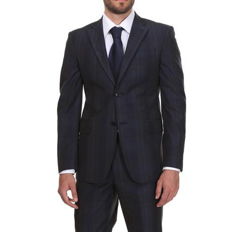 Classic Suit // Blue Check
