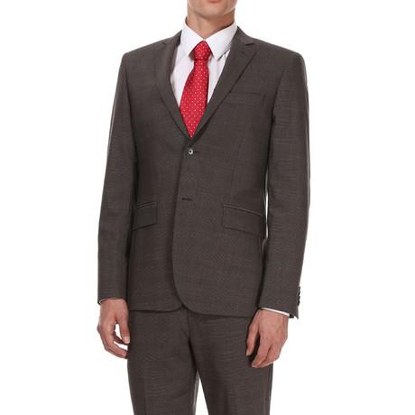 Slim Classic Suit // Grey Pattern