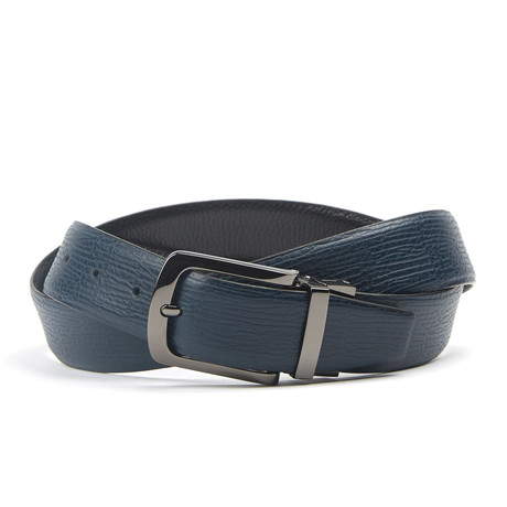 Snake Traditionele Belt // Blue