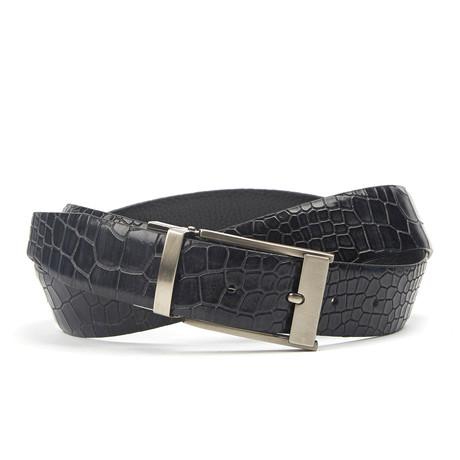 Snake Traditionele Belt // Black