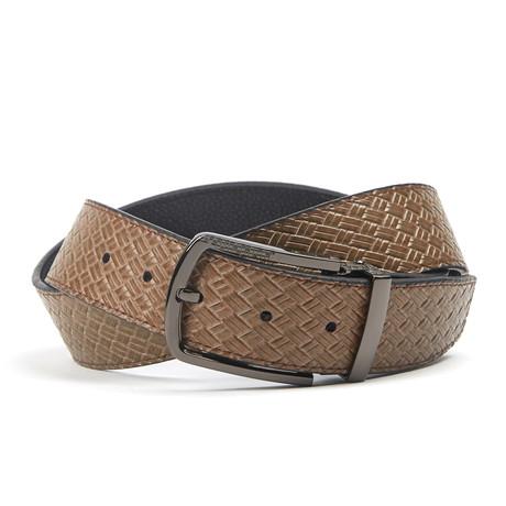 Traditionele Woven Belt // Tan