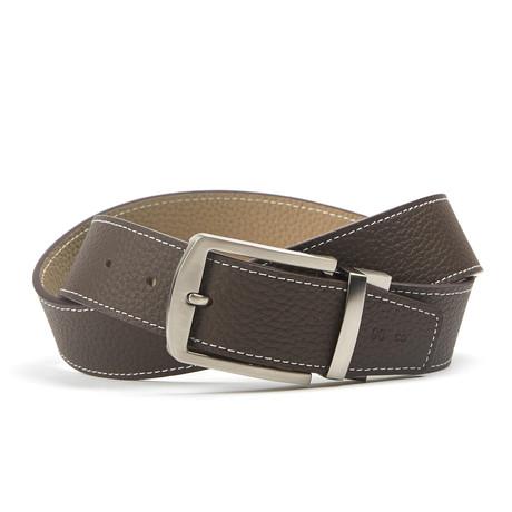 Gestikt Traditionele Belt // Grey