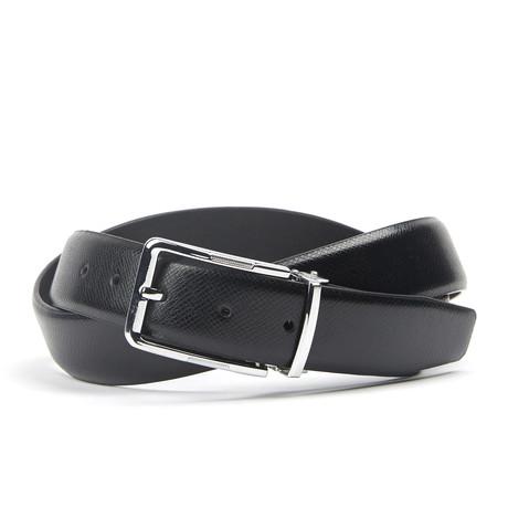 Traditionele Belt // Black Check