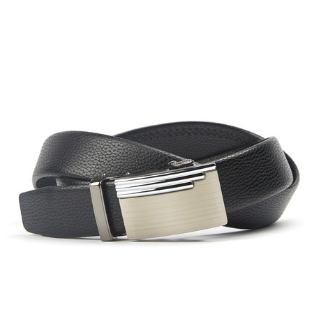 Geweven Track Belt // Black