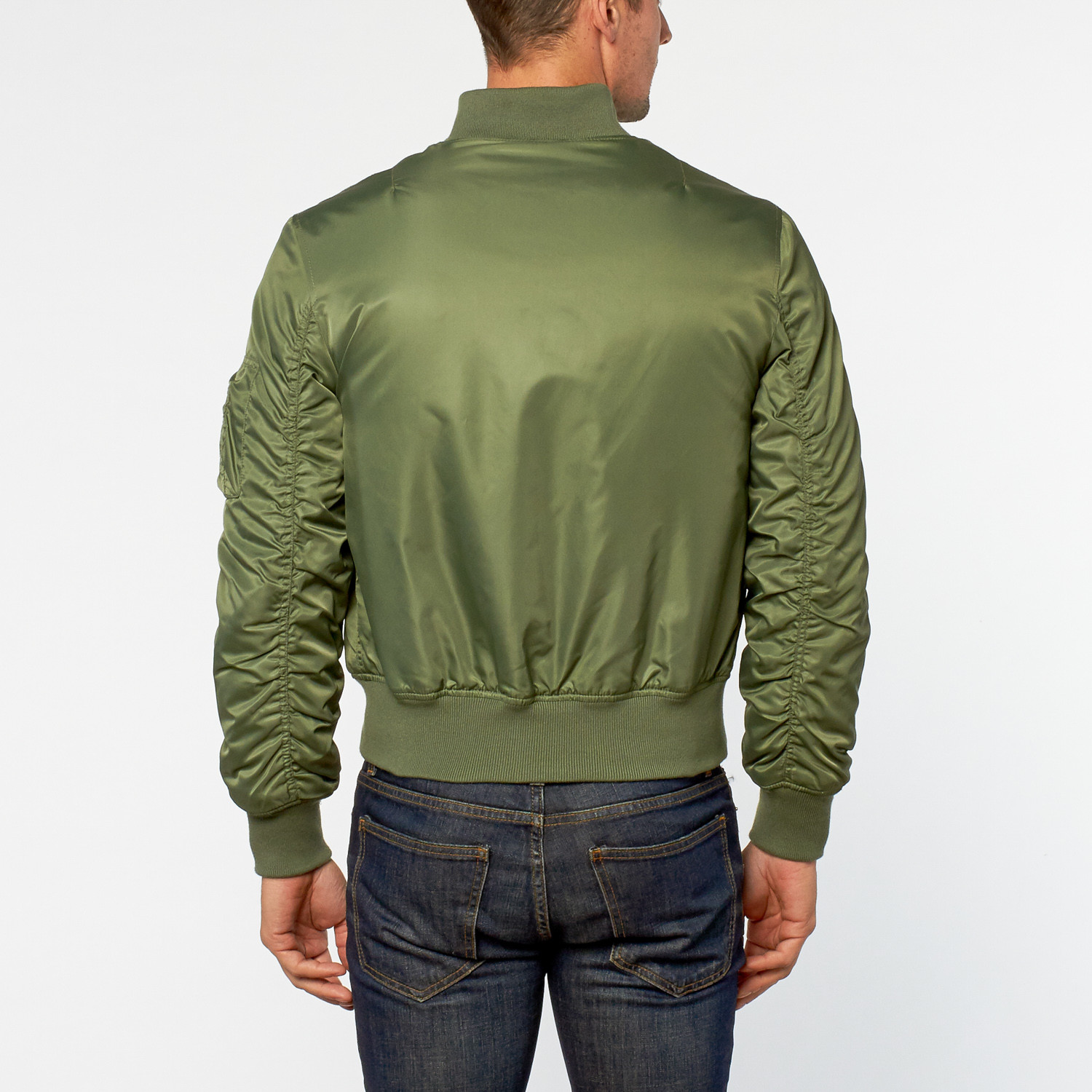 Avirex // Bomber Jacket // Verde Militare (XS) - Your Winter Look ...