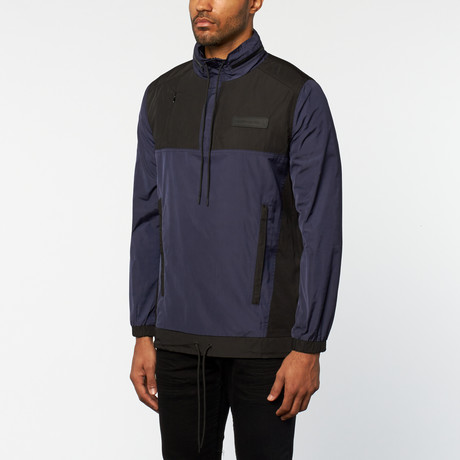 Control Sector // Patrol Anorak // Navy + Gray (S)