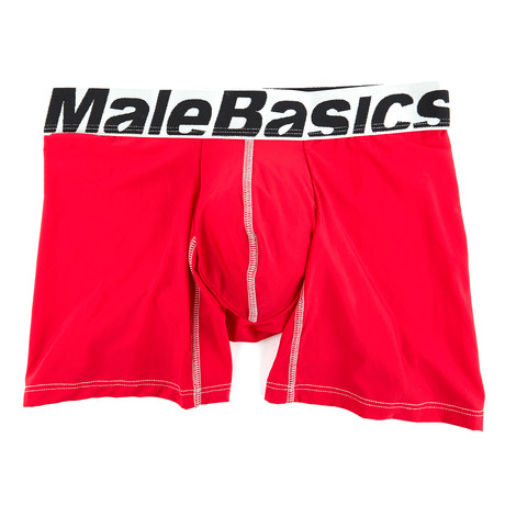 Boxer Brief Microfiber // Red