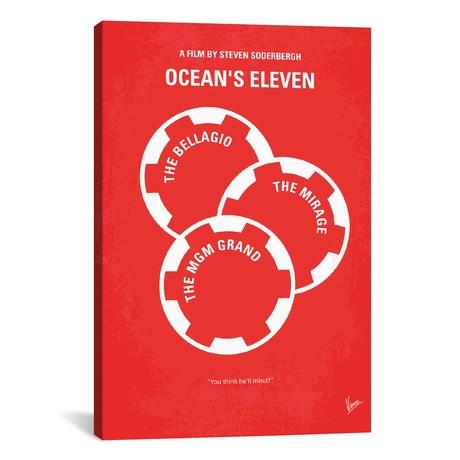 "Ocean's Eleven (18""W x 26""H x 0.75""D)"