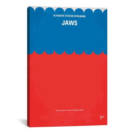 """Jaws (18""""W x 26""""H x 0.75""""D)"""
