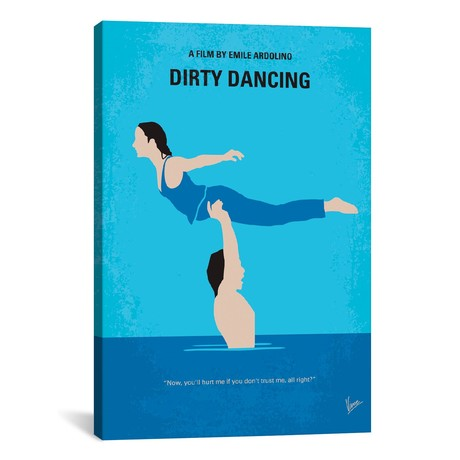 "Dirty Dancing (18""W x 26""H x 0.75""D)"