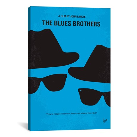 "Blues Brothers (18""W x 26""H x 0.75""D)"