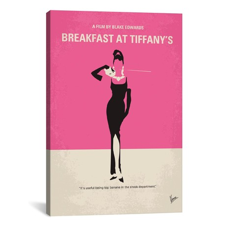 "Breakfast At Tiffany's (18""W x 26""H x 0.75""D)"