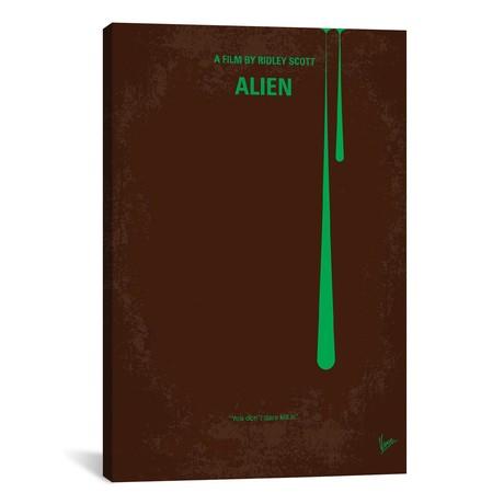 "Alien (18""W x 26""H x 0.75""D)"