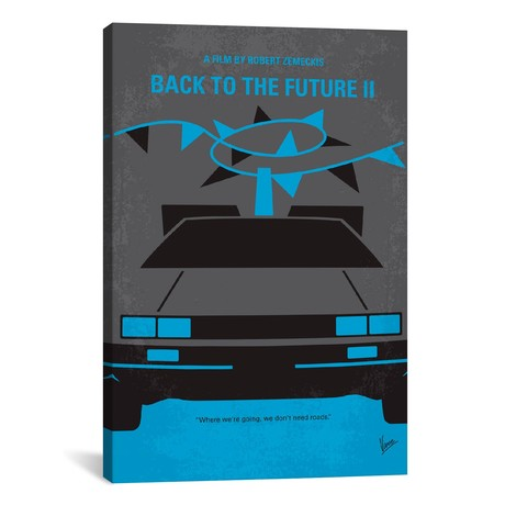 "Back To The Future II (18""W x 26""H x 0.75""D)"