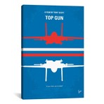 "Top Gun Minimal Movie Poster // Chungkong (26""W x 40""H x 1.5""D)"