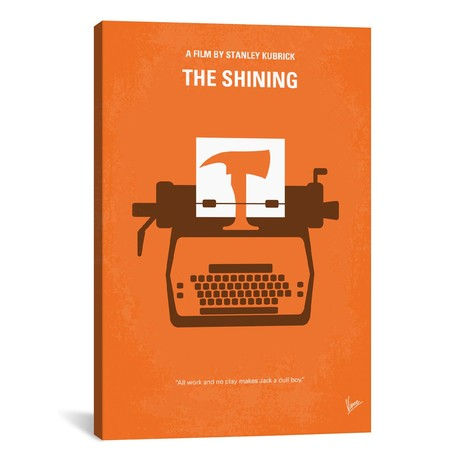 "The Shining (18""W x 26""H x 0.75""D)"
